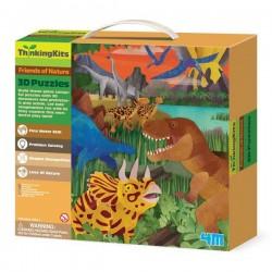 3D-пазл 4M Динозавры (00-04668)
