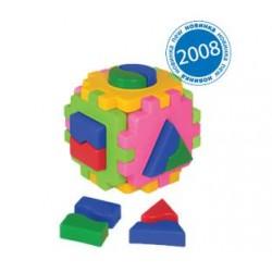 """Куб """"Розумний малюк """" Логіка 1, в кул. 10*10*10см, ТМ Технок, Україна"""