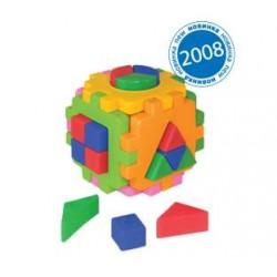 """Куб """"Розумний малюк """" Логіка 2, в кул. 10*10см, ТМ Технок, Україна"""