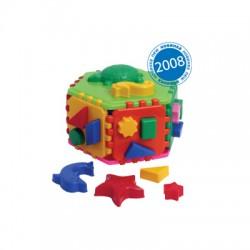 """Куб """"Розумний малюк Гіппо"""", в кул. 20*10*20см, ТМ Технок, Україна"""