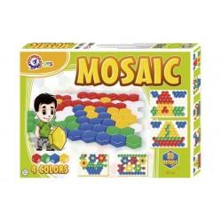 Мозаика  для малышей 1, 80 элементов, в кор. 45*34*4см, ТМ Технок, Украина