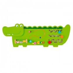 Бизиборд Viga Toys Крокодильчик (50469FSC)