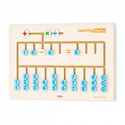 Бизиборд Viga Toys Математика (50675)