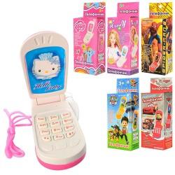 Мобильный телефон, 6 видов, в кор. 9*4.5см