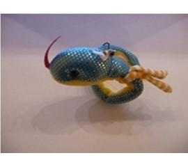 Брелок змея, микс цв., 20см