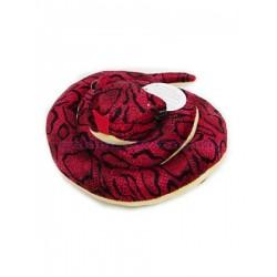 Мягкая игрушка Змея мягкая свернувшаяся, диаметр 26см