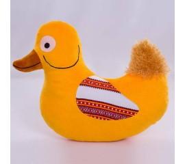 Мягкая игрушка Утка с орнаментом, 30см, Копиця
