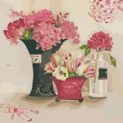 Картина по номерам Розовые мечты 40х40 см (KHO2060-mt)