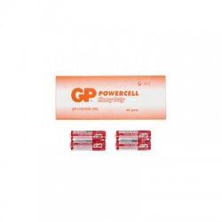 Батарейка GP POWERCELL 1.5V, ЦЕНА ЗА УП. 40ШТ, солевая, 15EREB-2S2  R6, AA