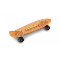 Скейт пенни, оранж., свет, в пак. 57*15*см, колёса PU до 35кг, пр. Украина, ТМ