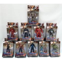 Супергерои, 10 видов, в кор. 24*14*4см