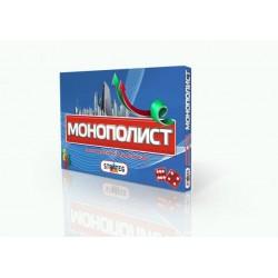 Игра экономическая , настольная «Монополист», в кор.38*25*4см, ТМ Стратег, Украина