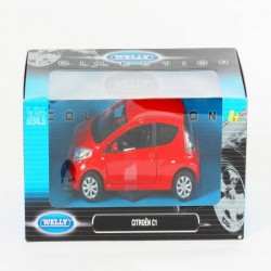 Машина Welly, CITROEN C1, метал., масштаб 1:24, в кор. 23*11*10см