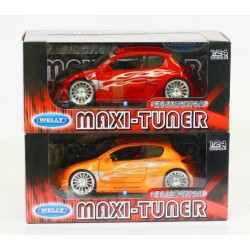 Машина Welly, Peugeot 206 Tuning, метал., масштаб 1:24, в кор. 23*11*10см