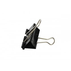 Биндер A PLUS 51мм, в упак12шт., метал, чорний, в кор.14*10*6см