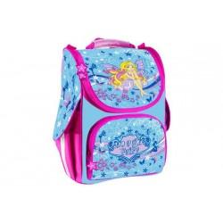 Рюкзак -35% школьны каркасний, 1 основное отделение, +1 впереди,  2 кармана