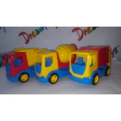 "Авто ""Tech truck"" 3 модели, 24*12*15см, ТМ Wader"