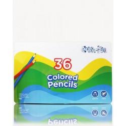 Карандаши Colorite 36 цветов, шестигранные, в метал.пенале 31*19см, ТМ