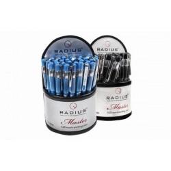 Ручка Master шариковая, синяя, ЦЕНА ЗА УП., В УП. 30ШТ, в пластиковом дисплее, ТМ Radius