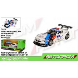 """Машина  """"АВТОПРОМ"""" спорткар 1:32 BMW Z4 GT3"""