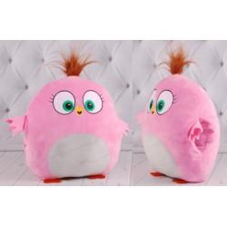 Игрушка-подушка-муфта, розовая,30 х30 см. Копиця (00278-44)