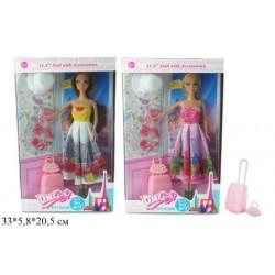 Кукла 29см Путешественница, с аксес., 2 вида, в кор. 33*5,8*20,5см