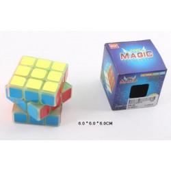 Кубик логика светящийся в темноте, 3*3см, в кор. 6*6*6см