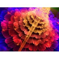 Алмазная мозаика Dreamtoys Вальс цветов, 30х40 см, без рамки (H8833)