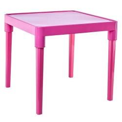 Стол детский, розовый, 51*51*47см Алеана (100025/1)