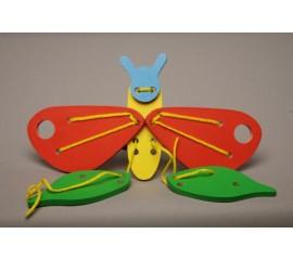 Шнуровка Бабочка