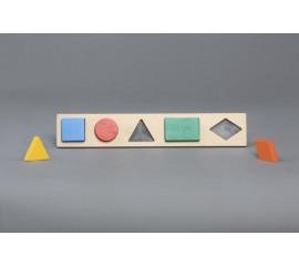 Рамка вкладыш Геометрические фигуры 5