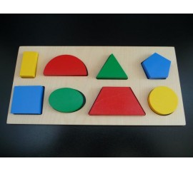 Рамка вкладыш Геометрические фигуры 8