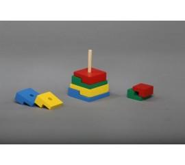 Пирамидка Головоломка 8 элементов