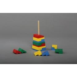 Пирамидка Головоломка 14 элементов