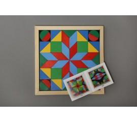 Мозайка Геометрика 4 фигуры