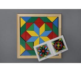 Мозайка Геометрика 2 фигуры