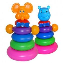 """Пирамидка """"Медведь"""",  17,5*17,5*30см, ТМ M-toys, Украина"""