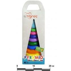 Игрушка развивающая Пирамидка Люкс Wader (39372)