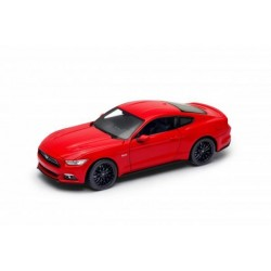 Машина Welly, FORD MUSTANG GT 2015, метал., масштаб 1:24 (24062W)