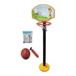 Корзина баскетбольная на стойке 110,5см с мячем AToys (0754-803)