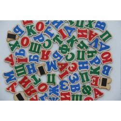 Набор Украинский алфавит на магнитах 72 буквы.
