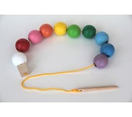 Шнуровка Бусы цветные шарики