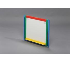 Доска магнитная для рисования мелом и фломастером + мольберт (настольная / навесная)