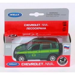 "Машина Welly, ""NIVA CHEVROLET CONVERSVATION"", метал., в кор. 15*6*6см"