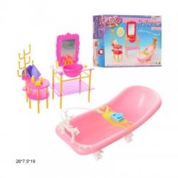 """Мебель """"Gloria"""" для ванной, в кор. 26,5*19*8 см"""