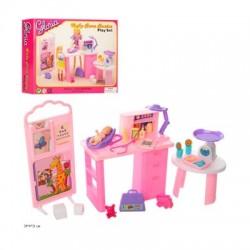 Мебель для кукол A-toys Gloria пеленальный столик  (9817)