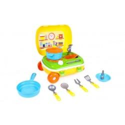 Игровой набор ТехноК Кухня с набором посуды (6078)