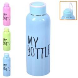 "Бутылка-поилка спортивная металл. ""My bottle"" 500мл"