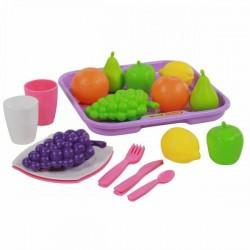Игровой Набор продуктов Полесье с посудой (46970)