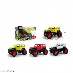 """Машина метал. """"Monster truck"""", 1:32, на батарейках, свет, звук, аммортиз., 3 цвета AToys (1029-1A)"""